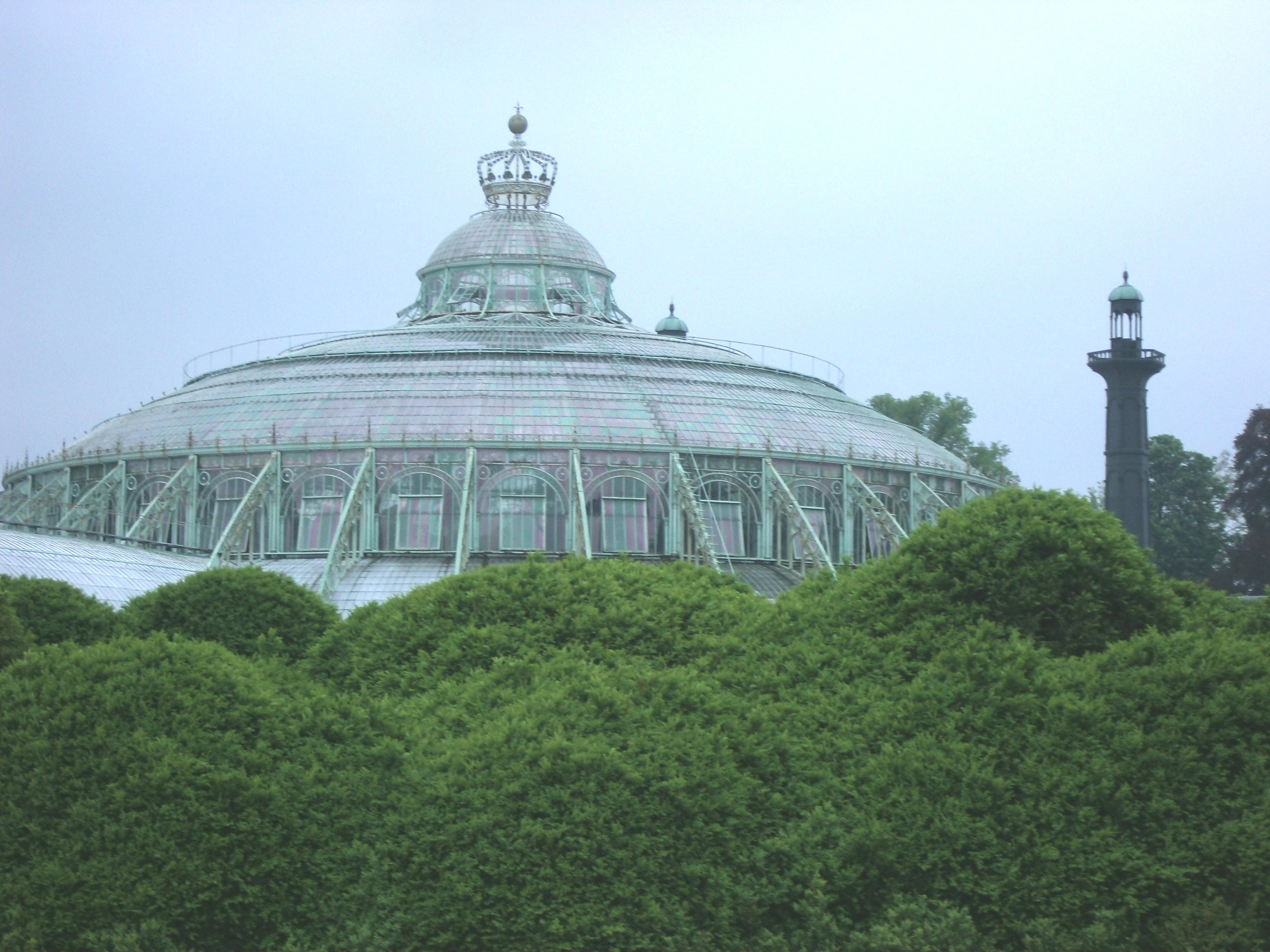 Wintertuin koninklijke serres van laken
