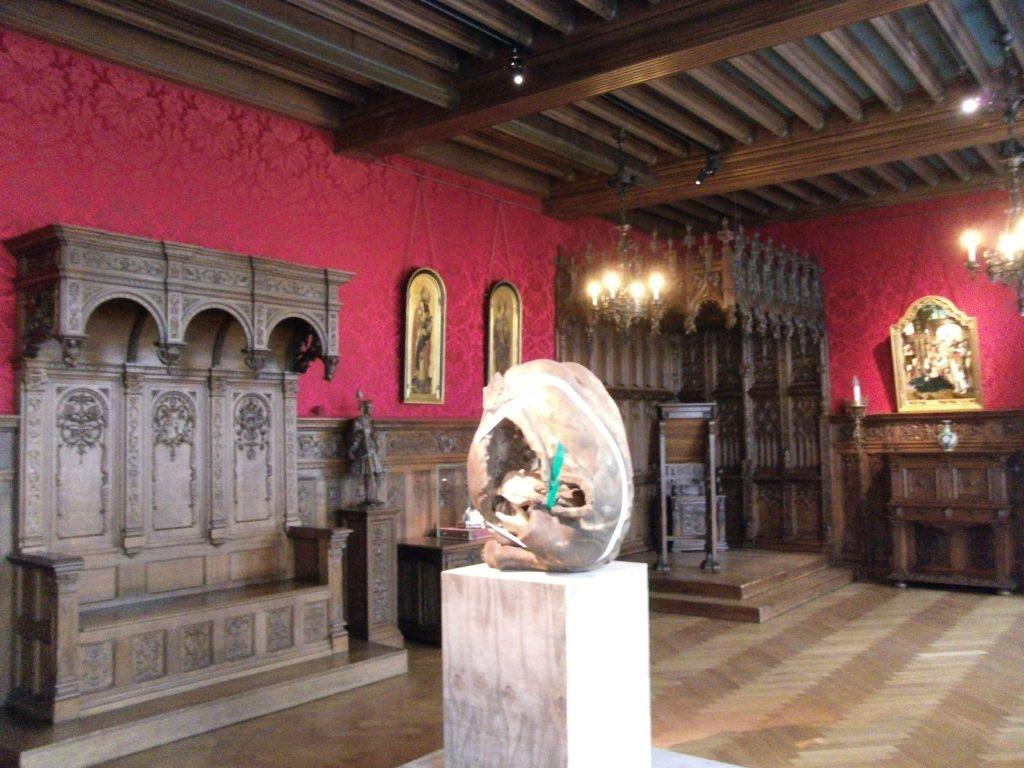 Galerijzaal kasteel van Gaasbeek
