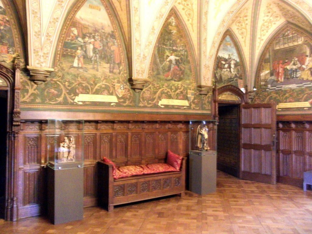 Ridderzaak kasteel van Gaasbeek