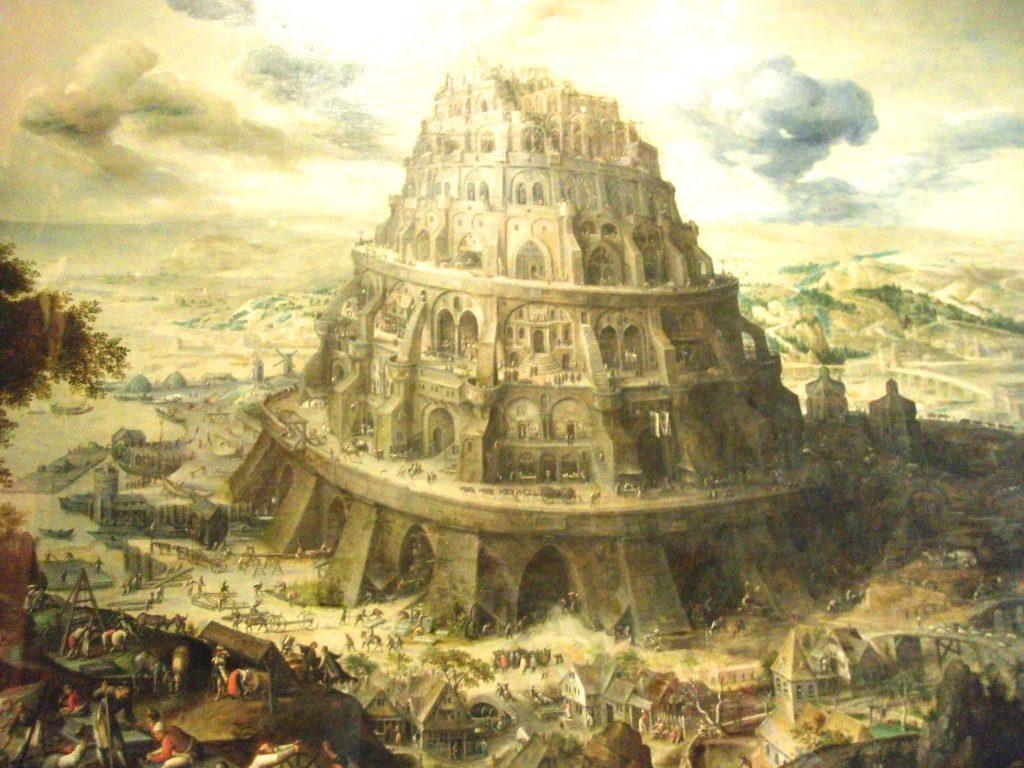 Toren van Babel in kasteel van Gaasbeek