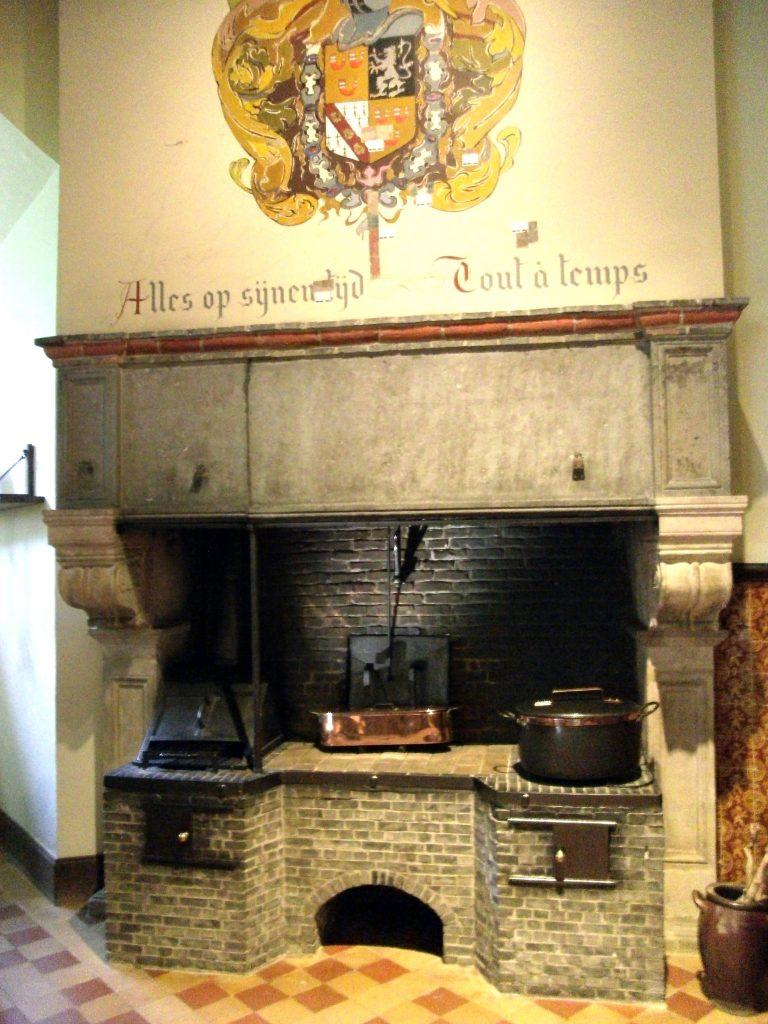 Keuken kasteel van Gaasbeek