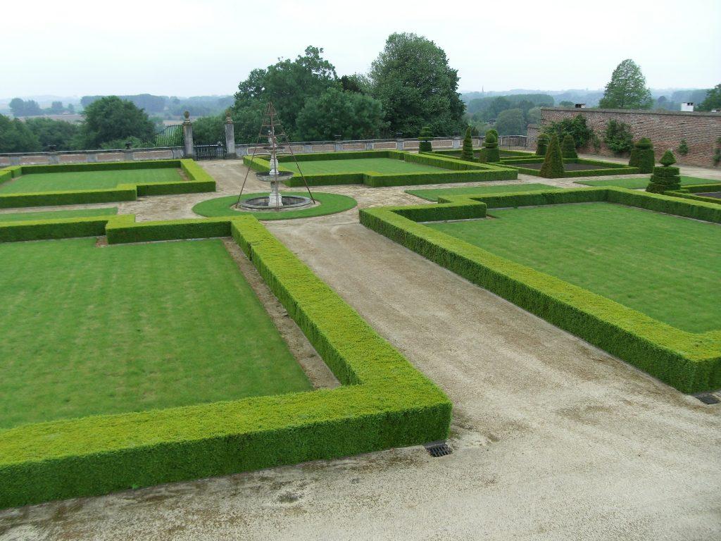 Franse tuin kasteel van Gaasbeek