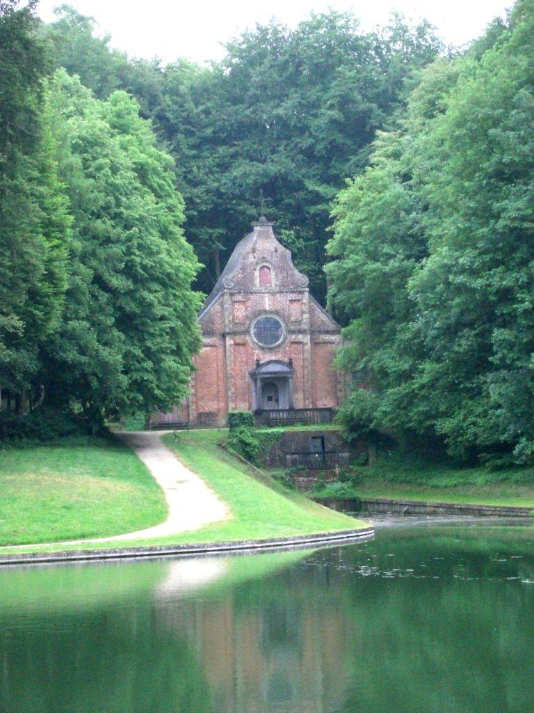 Sint-Gertrudiskapel kasteel van Gaasbeek