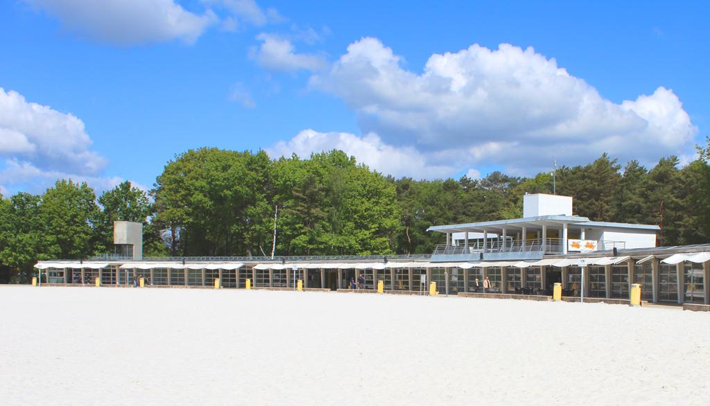Strandgebouw Zilvermeer Mol