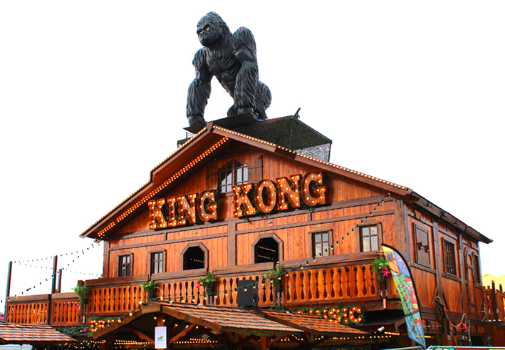 King Kong Bar Sinksenfoor in Antwerpen 2019