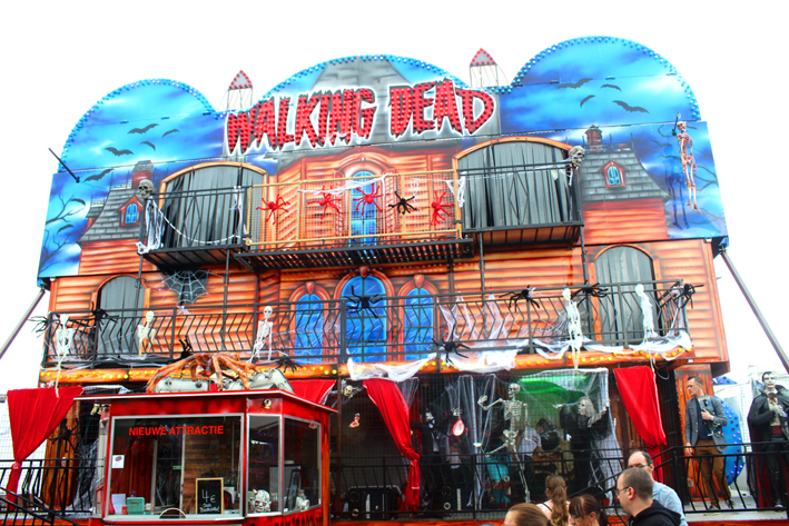Walking Dead Sinksenfoor in Antwerpen 2019