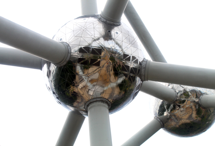 Central sphere of the Brussels Atomium