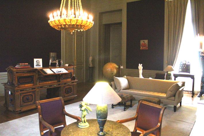 Salon van de Maarschalken Koninklijk paleis geopend