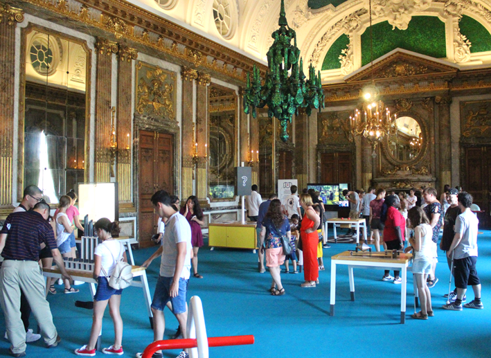 Expositie Technopolis Koninklijk Paleis geopend
