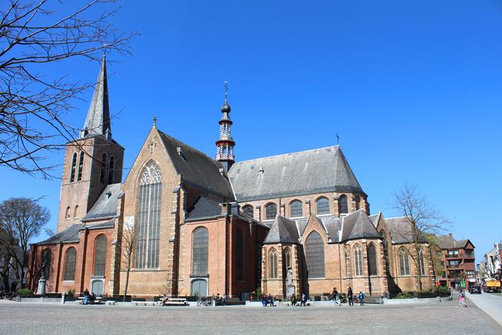 Sint-Pieterskerk stadswandeling in Turnhout