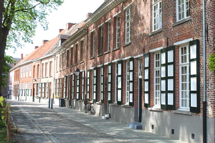 Begijnhof stadswandeling in Turnhout