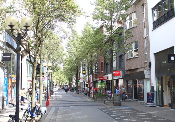 Gasthuisstraat Stadswandeling in Turnhout