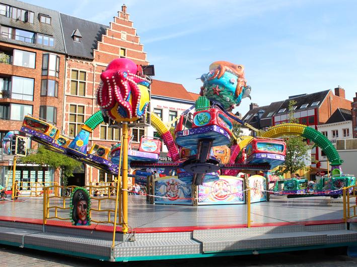 Aqua Rysen Polyp Kermis Turnhout