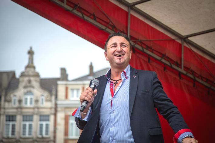 Sammy Moore jaarmarkt Leuven 2017