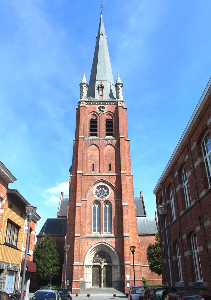 Heilig Hartkerk stadswandeling in Turnhout