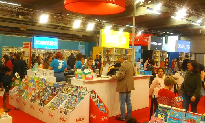 Kinderboeken en stripverhalen Boelenbeurs Antwerpen 2019