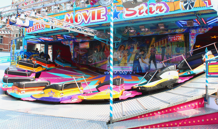 Bidule Movie Star Kermis in Oostende 2019