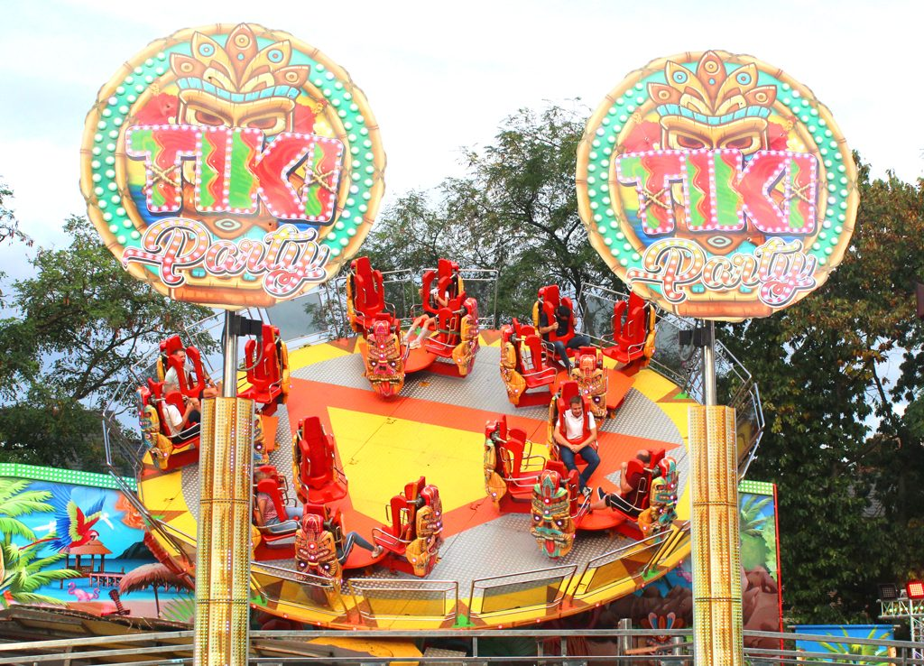 Tiki Party Kermis in Oostende 2019
