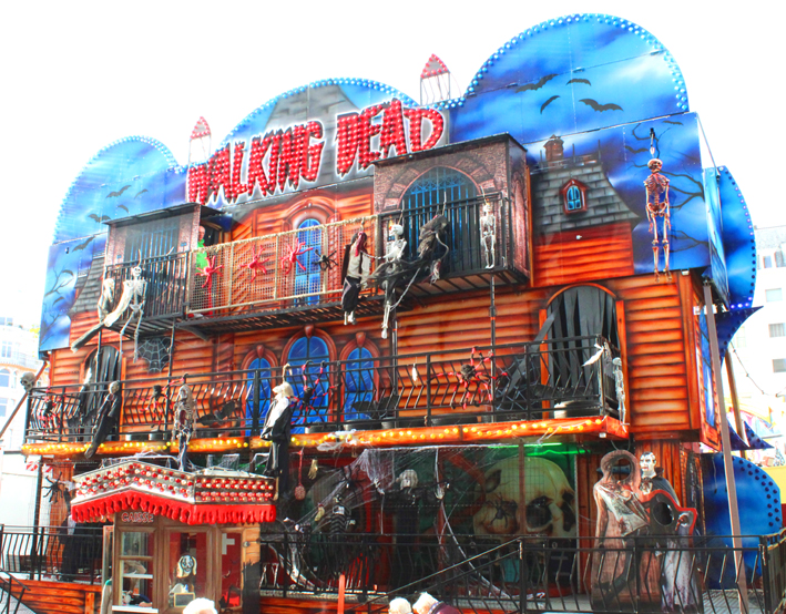 Walking Dead Kermis in Oostende 2019