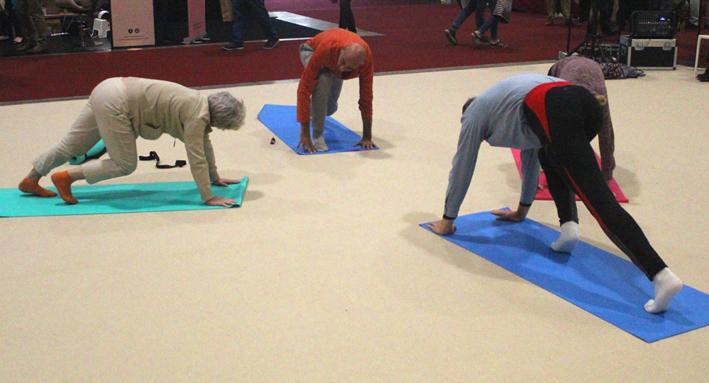 Yoga Voedingssalon Brussel 2019