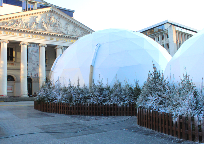 The Dome Muntplein Winterpret Brussel 2019