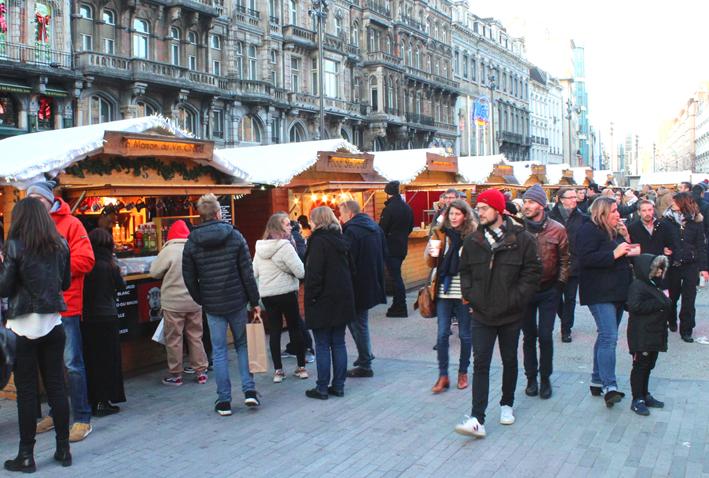 Kerstmarkt De Brouckèreplein 2019