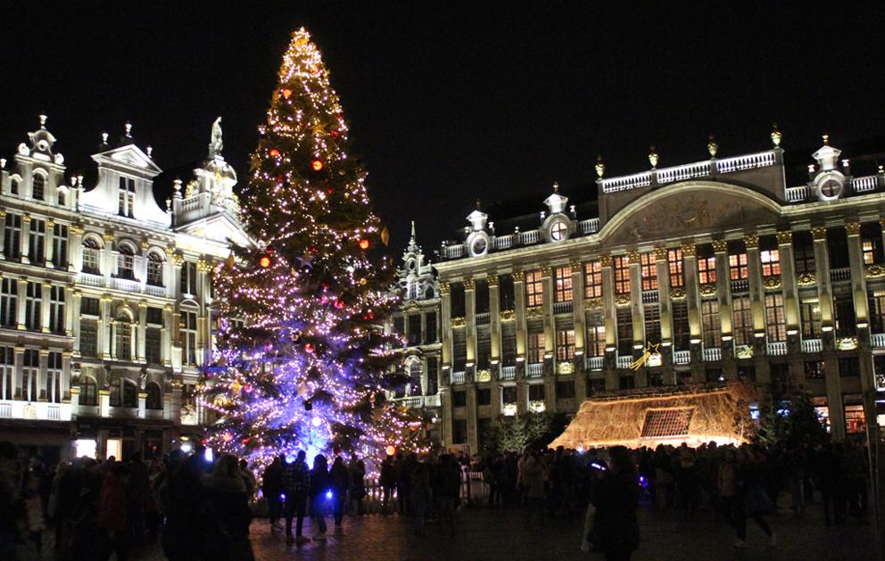 Kerstmarkt Winterpret Brussel 2019