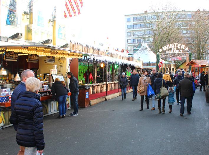 Kerstmarkt Winterland Hasselt 2019