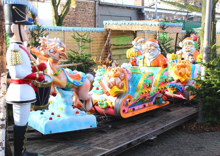 Kersttreintje Winterland Hasselt 2019