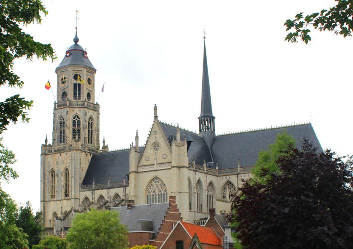Sint-Gummaruskerk Stadswandeling in Lier