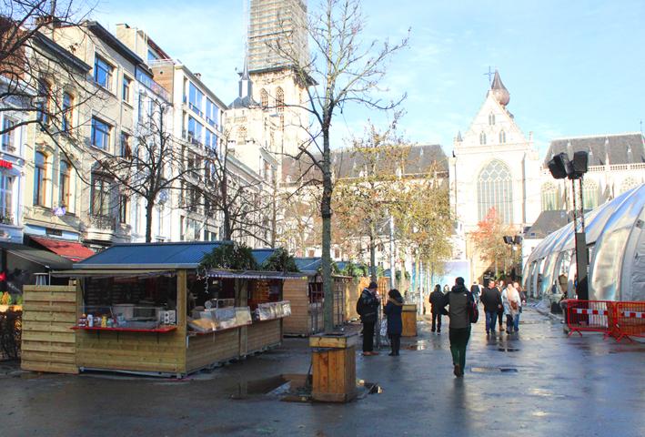 Kerstmarkt Groenplaats Antwerpen 2019