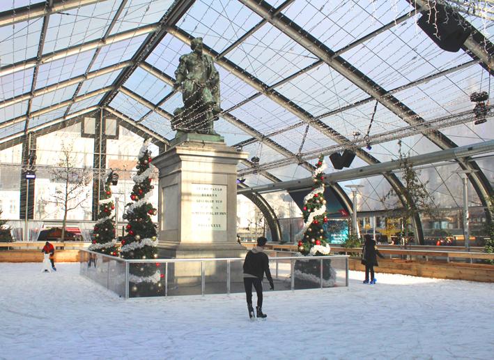 Ijspiste Groenplaats Kerstmarkt Antwerpen 2019