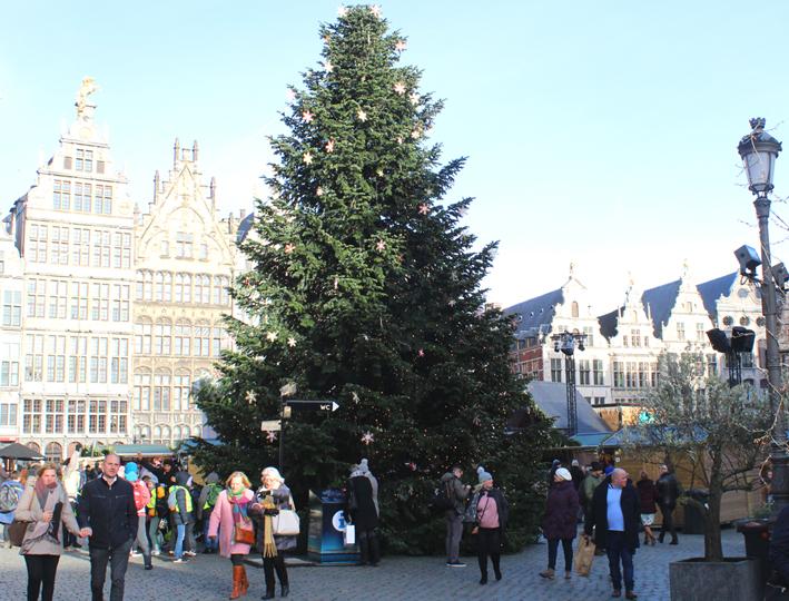 Kerstmarkt Antwerpen 2019 Grote Markt