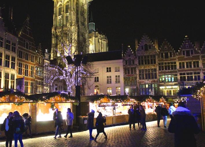 Kerstmarkt Grote Markt Antwerpen 2019
