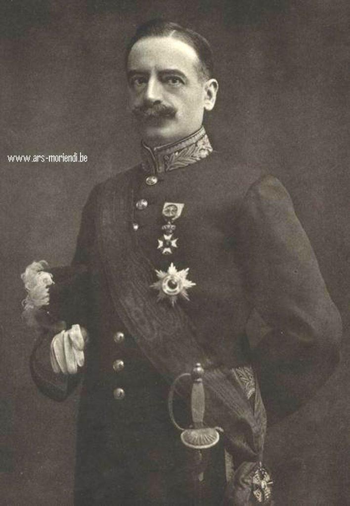 Charles de Broqueville Wandelen in Postel