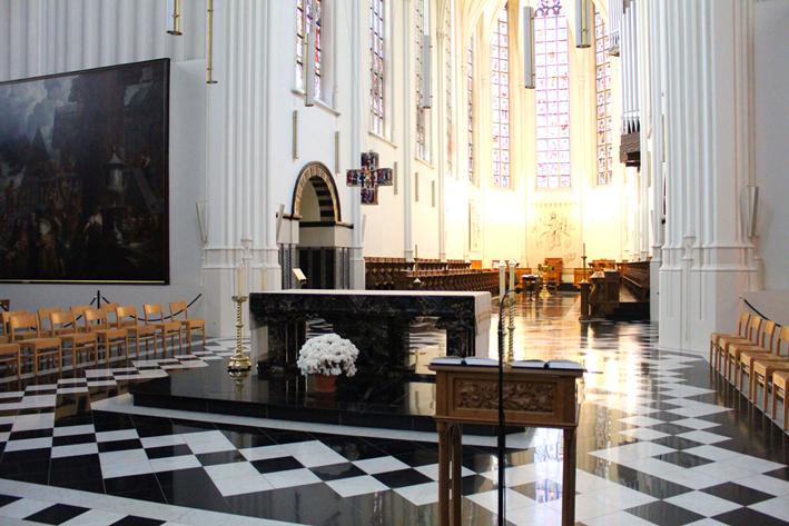 Interieur kerk Abdij van Tongerlo