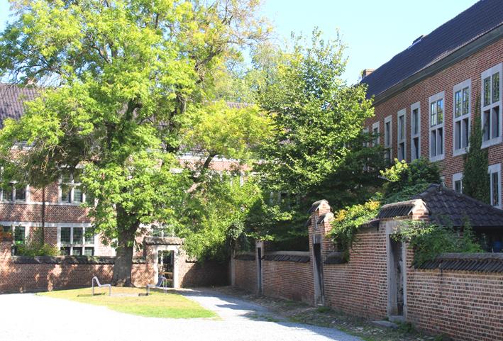 Begijnhofhuisjes Stadswandeling in Hasselt
