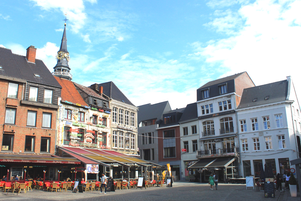 Grote Markt stadswandeling in Hasselt