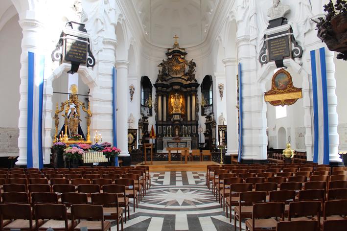 Interieur Hanswijkbasiliek Mechelen
