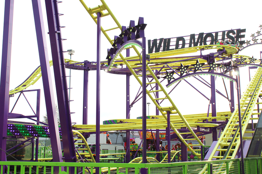 Wild Mouse Zuidfoor Brussel