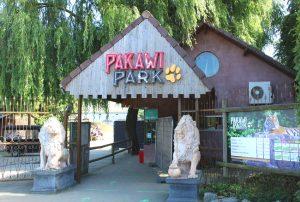Pakawi Park hoofdingang