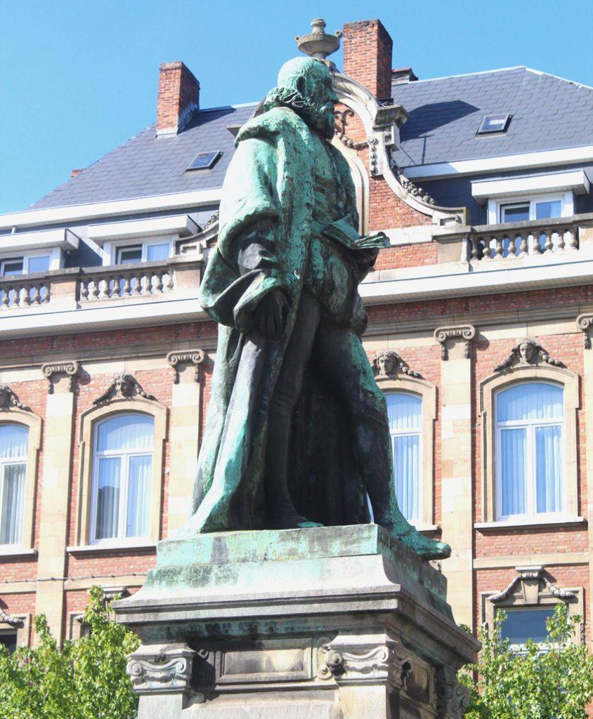Justus Lipsius standbeeld Leuven
