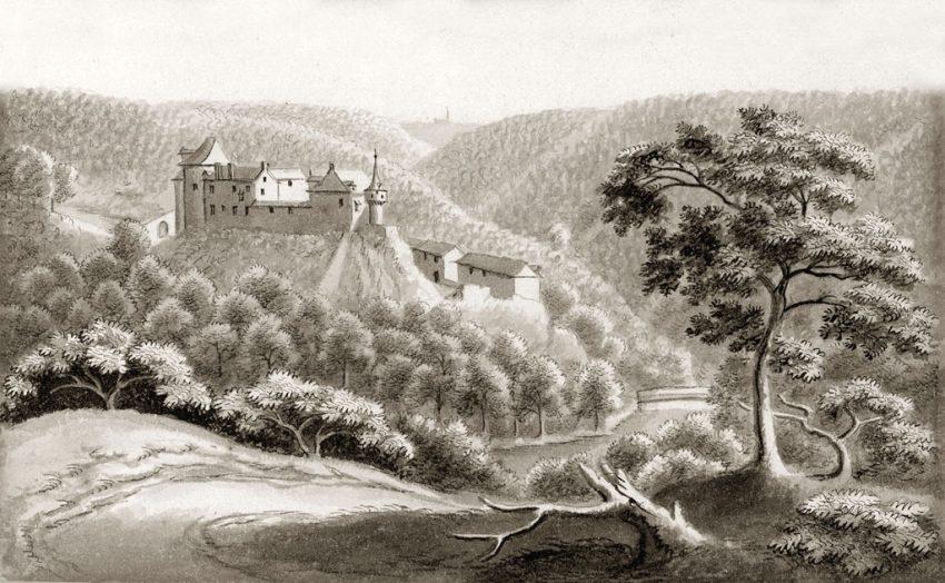 Tekening Reinhardstein 1738