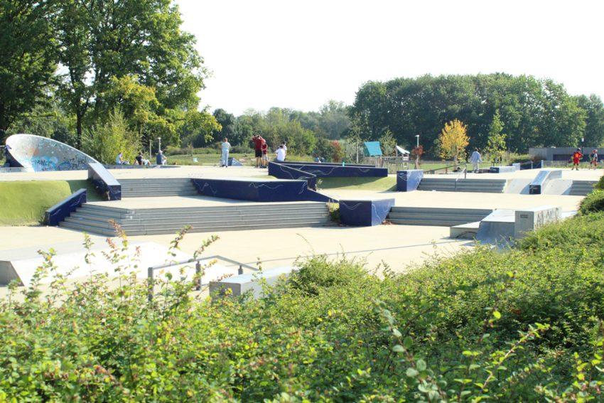 Skatebaan Kapermolenpark Hasselt