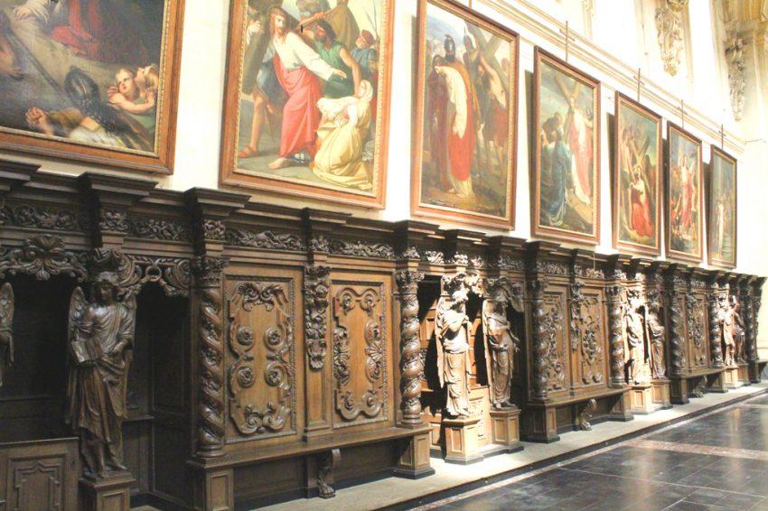 Sint-Michielskerk biechtstoelen