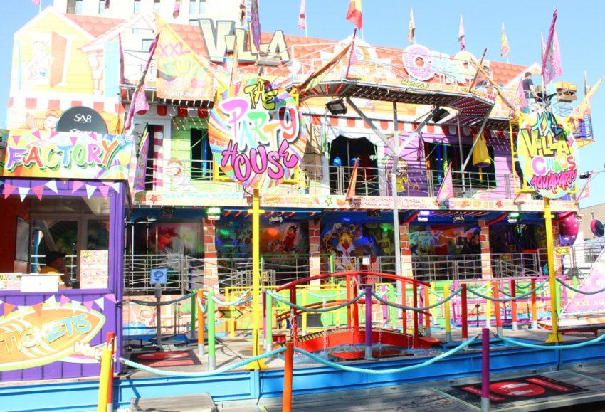 Funhouse Villa Chaos kermis Hasselt