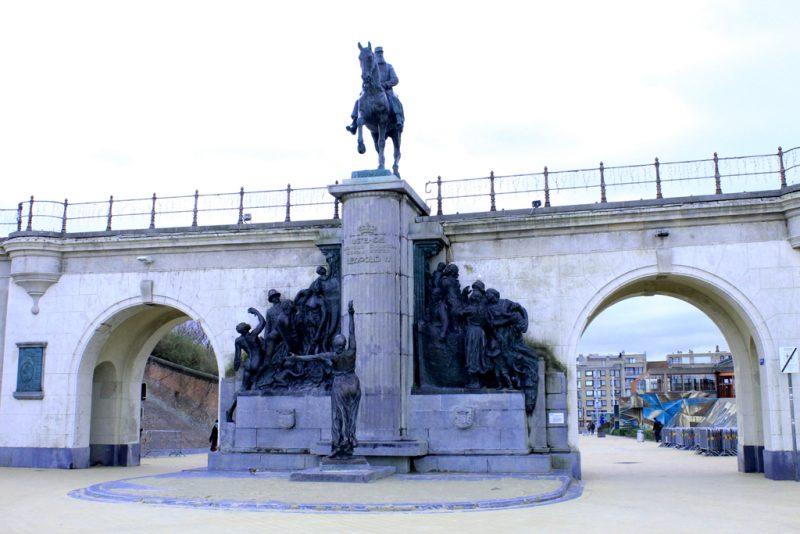 Ruiterstandbeeld Leopold II Oostende