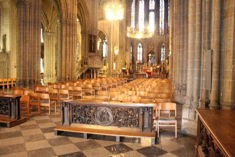 Interieur Sint-Petrus-en-Pauluskerk