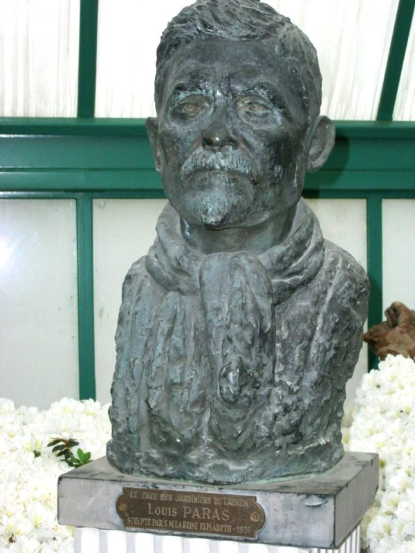 Borstbeeld Louis Paras Azaleaserre