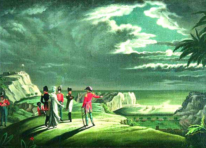 Napoleon Sint-Helena